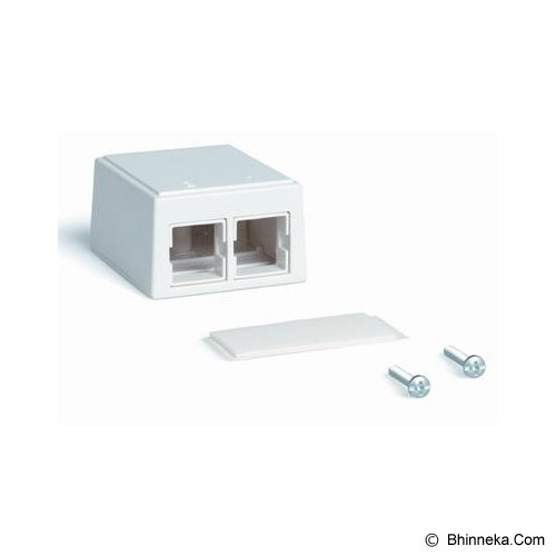 SYSTIMAX Surface Mount Box [M102SMB-B-262] - white - Mount Box